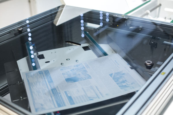 Druckplattenherstellung
